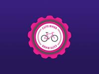 Cute Pink Badge
