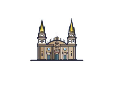 Vector Cities: Guadalajara 01 architectural vector architechture