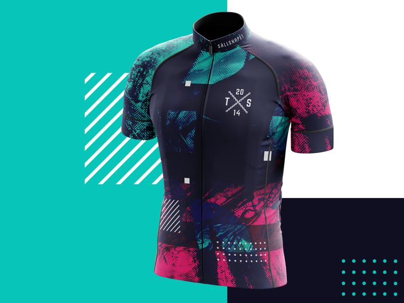 Team Sällskapet Cycling Jersey 2020 sport fashion bicycle bike cycle mockup cycling jersey identity brand apperal