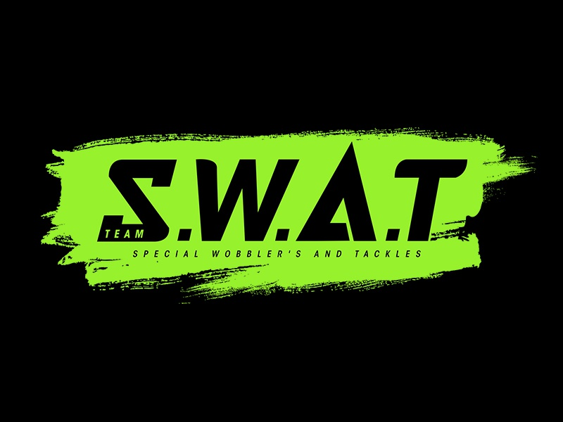 Team S.W.A.T identity brand logo fishing swat team