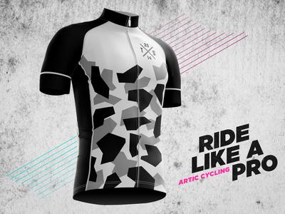 Artic Cycling jersey dress cycle biking bike bicycle apparel cycling