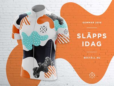Team Sällskapet Cycling Jersey 2018 racing mockup kit jersey cycling cycle bike bicycle apperal