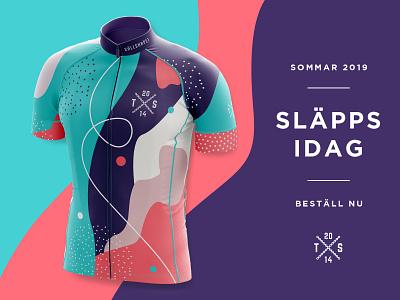 Team Sällskapet Cycling Jersey 2019 fashion sport dress racing mockup kit team jersey cycling bike bicycle apperal