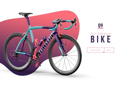 Bike team pattern design mockup cycle bicycle bike