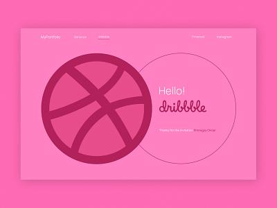 Hello dribbble! tilda publishing tilda ui design ux design landing page web site design web design ux ui design