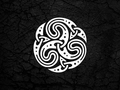 Celtiс Triskele ornament irish triskele celtiс