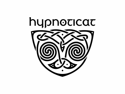 Hypnoticat котолого кот ornament knot irish hypnoticat celtic cat animal