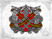 Scythe and snakes