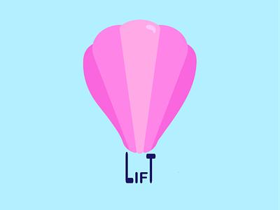 hot air balloon - logo design dailylogochallenge illustration design icon vector branding logo graphic design