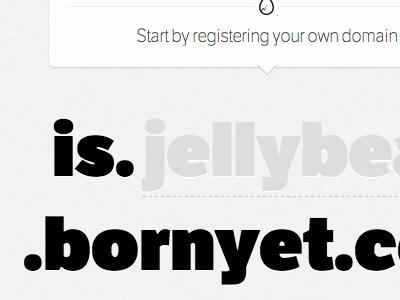 BornYet homepage form homepage babies