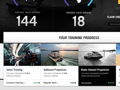 BRP Intranet Training Modules