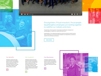 Unused Styling for Careers Pages orange red purple careers design primary overlay color web