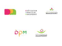 Diëtisten Praktijk Maaspoort - Logo proposals