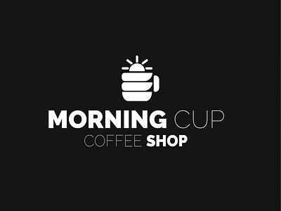 Morning Cup Coffee Shop branding design icon graphic design logo