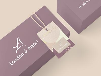 London & Amari design graphic design branding