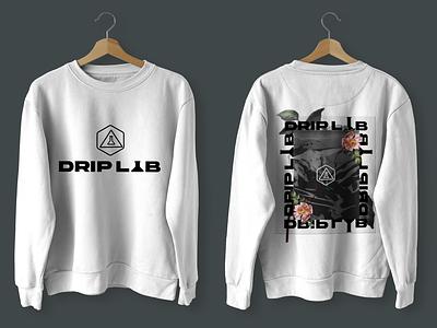 Drip Lab Merch logo product design branding design design graphic design branding
