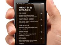 responsive menu design