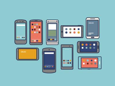 Bunch O' phones