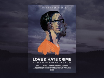 Love & Hate Crime prison orange photography hate love bbc poster movie documentary