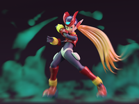 Megaman Zero Fan art