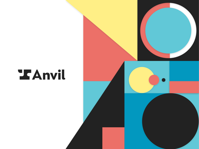 A Brand New Anvil launch logomark wordmark paperwork automation startup tech landing page anvil logo branding and identity brand design brand identity branding design brand