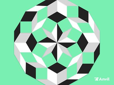 12 Factor App illustration 12 dodecahedron dodecagon factor app developer code cover blog automation anvil pdf paperwork