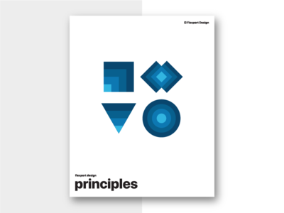 Flexport Design Principles poster principles design flexport