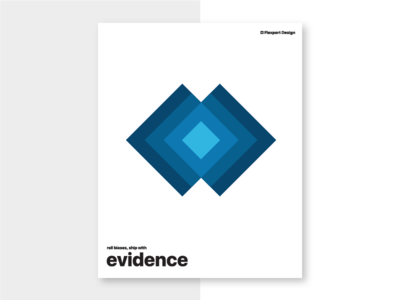 Roll Biases, Ship with Evidence user research principles poster flexport design
