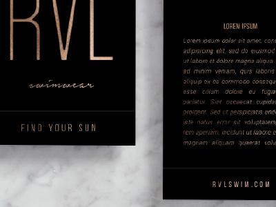 logo exploration for RVL