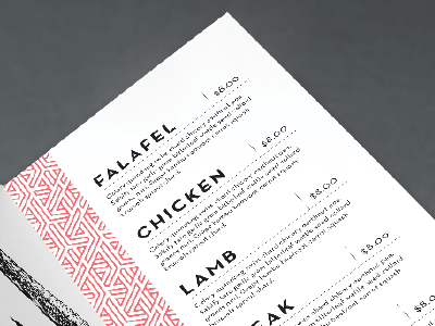 menu exploration