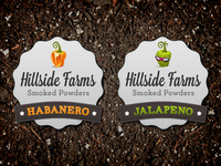 Habanero and Jalapeño Spice Labels