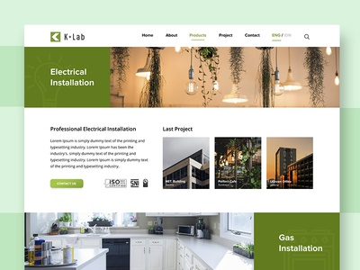 Installation Company Product Page