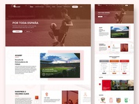 Soccer Academy Homepage