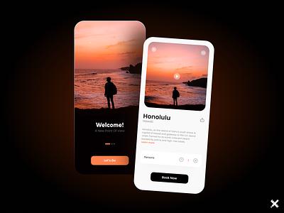 Travel App Design design dribbble best shot dribbble colors minimal clean travel app mobile product uxui uiux ux design ui design ux ui