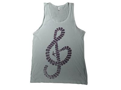 (K)not not music knot t-shirt skitchman tank