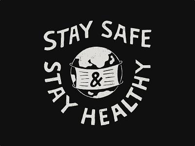 Stay Safe handlettering vintage branding inspiration merch design typography skitchism t-shirt lettering illustration