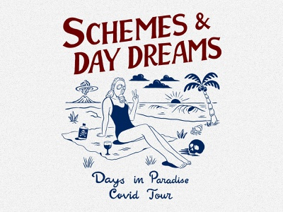 Schemes & Day Dreams handlettering branding inspiration vintage merch design typography skitchism t-shirt lettering illustration
