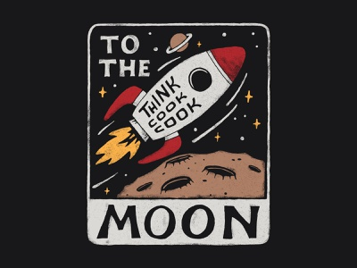 Outer Space handlettering branding inspiration vintage merch design typography t-shirt skitchism lettering illustration