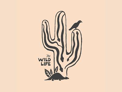 Wild Life handlettering branding inspiration vintage merch design typography skitchism t-shirt lettering illustration