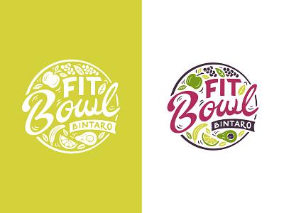 Fit Bowls handlettering branding inspiration vintage merch design typography skitchism t-shirt lettering illustration