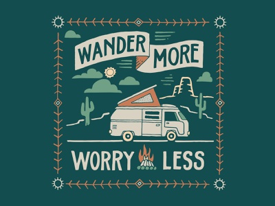 Wander More clothing handlettering branding merch design inspiration typography skitchism t-shirt lettering illustration