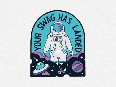 Swag Up clothing vintage branding handlettering merch design typography skitchism t-shirt lettering illustration