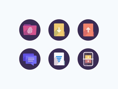 SME Icons glyph glyphs color design retina icon icons iconography