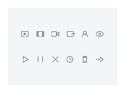 FV Icons 2 ios10 glyph glyphs color design retina icon icons iconography