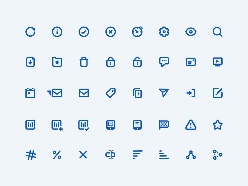 Mixpanel Iconography icon monotone line glyph design iconorgraphy icons