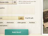 Modal Window Interface
