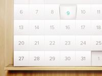 App Calendar