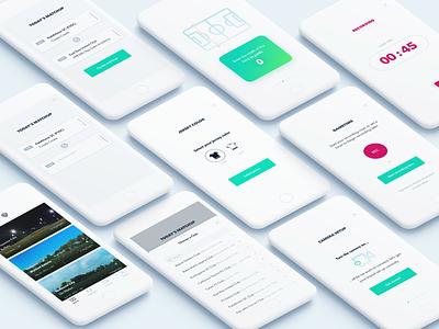 Matchup Info clean app minimal icon illustration user inter ux ui design app ios