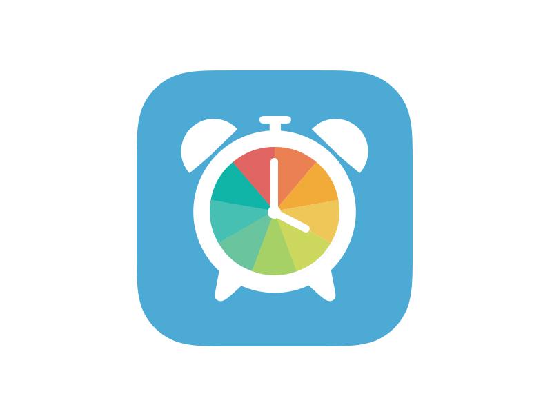 Temp Clock Icon app app icon ios 7 flat temperature clock iphone icon