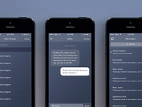 Weave iPhone App - Messaging